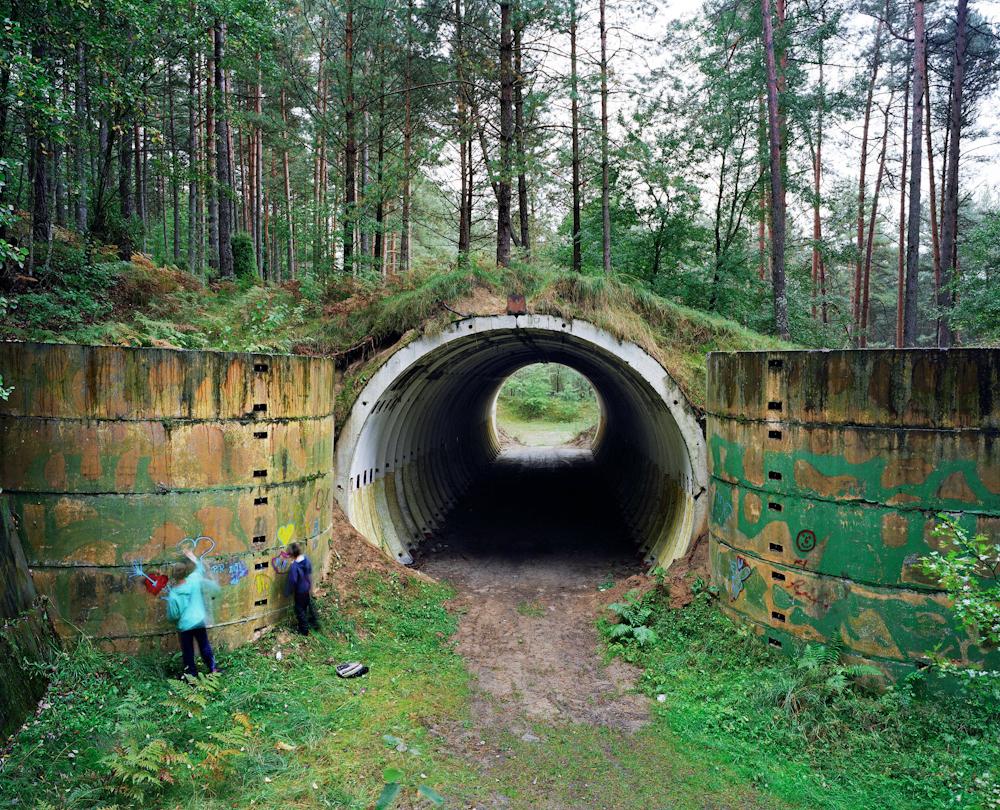 Poland. Nuclear missile silo.