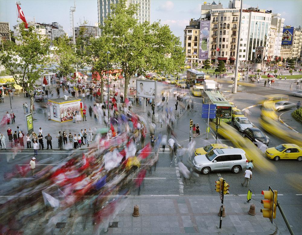 Taksim Meydani, Beyoglu, Istanbul, Turkey, 2010.  Inquire about this image