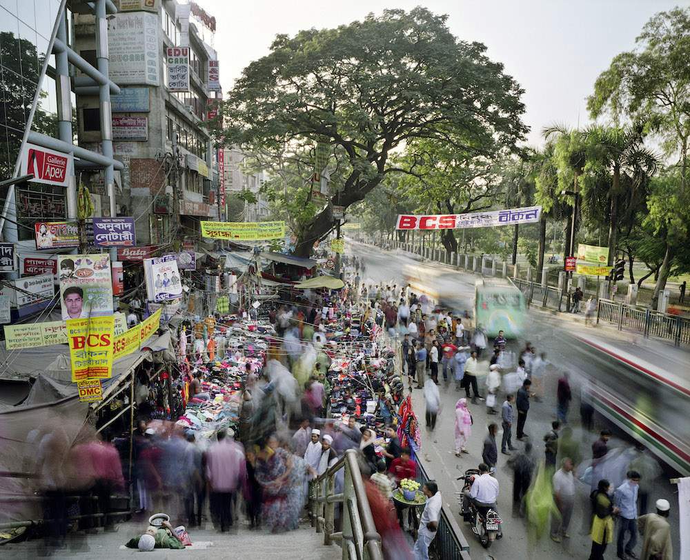 Indira Road, Farmgate, Dhaka, Bangladesh, 2011. Inquire about this image