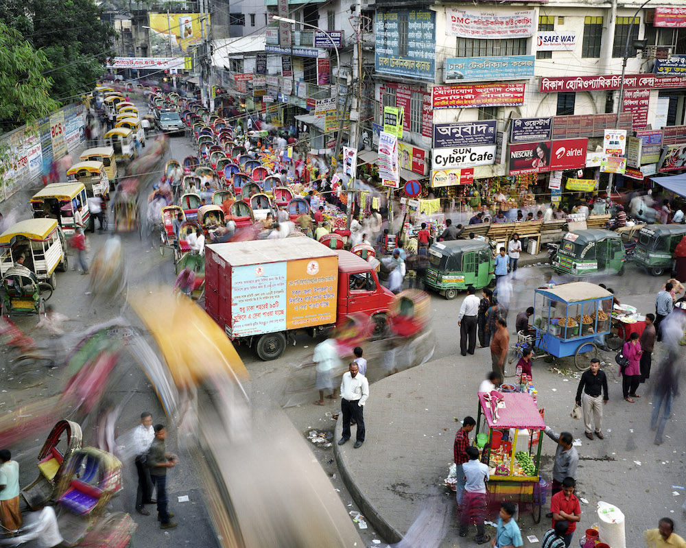 Tejturi Bazar, Farmgate, Dhaka, Bangladesh, 2011.  Inquire about this image