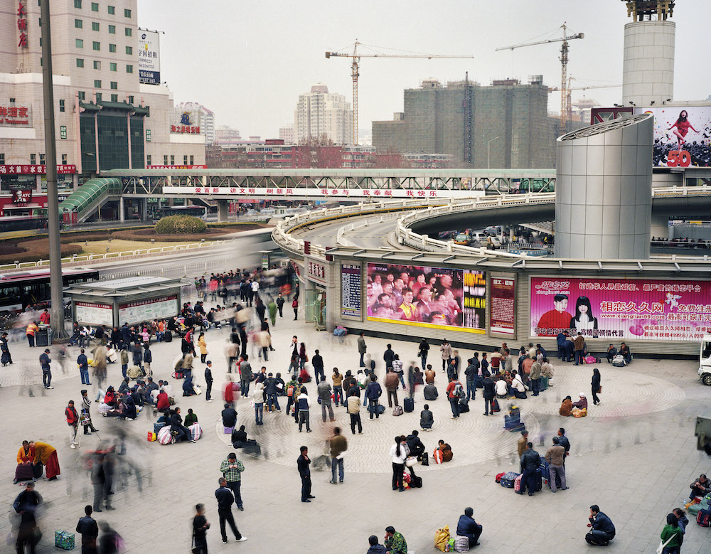 North Square of Beijing West Railway Station, Fengtai District, Beijing, China, 2010.  Inquire about this image