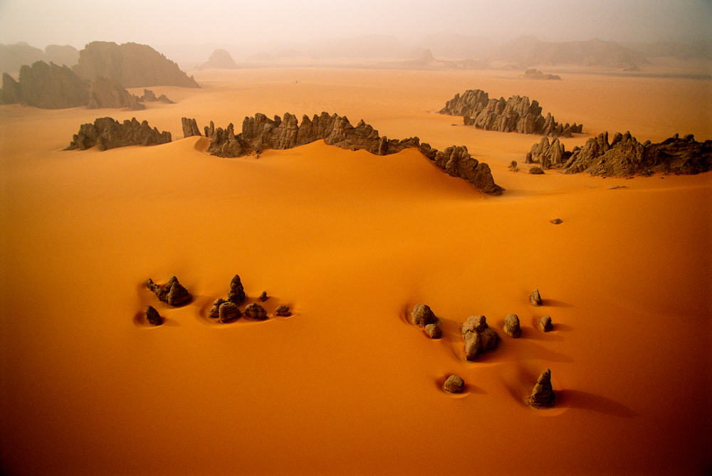Sandstone Pinnacles, Karnasai Valley, Chad.  Inquire about this image
