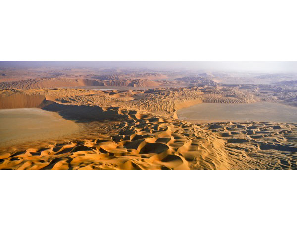 Complex barchan dunes, 'Uruq al Shaybah, Saudi Arabia, 2002.  Inquire about this image
