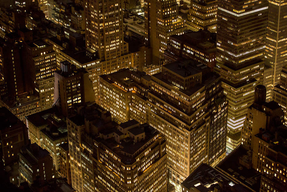 This photograph was taken from the 86th floor of the Empire State Building, looking uptown. September 2014.  Inquire about this image