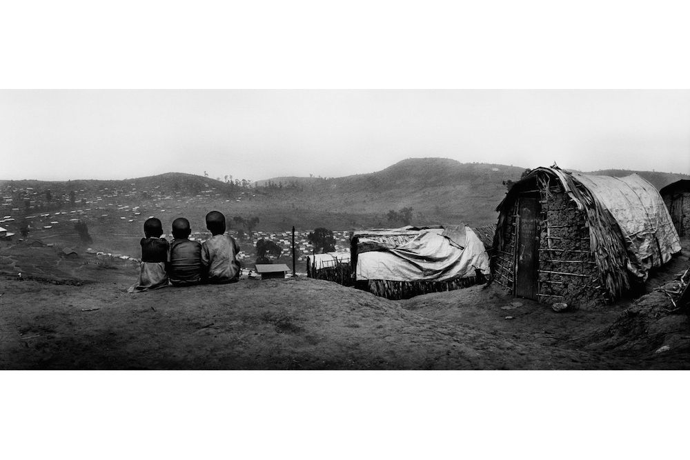 Nyanzale camp for displaced people, Democratic Republic of Congo, July 2008.  Inquire about this image