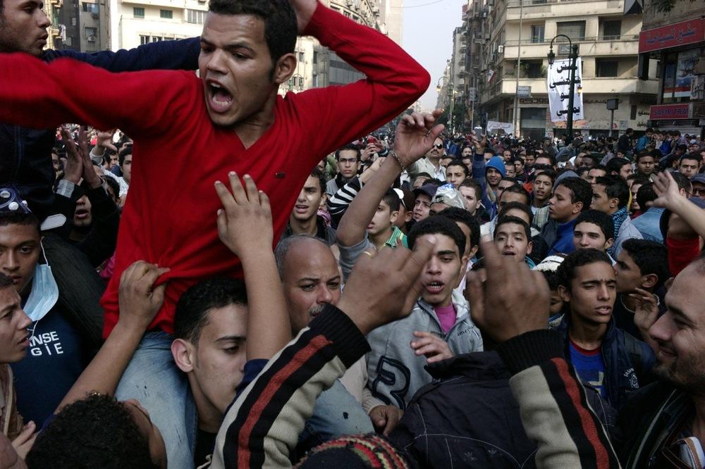 Uprising, Cairo, Egypt, 2011.
