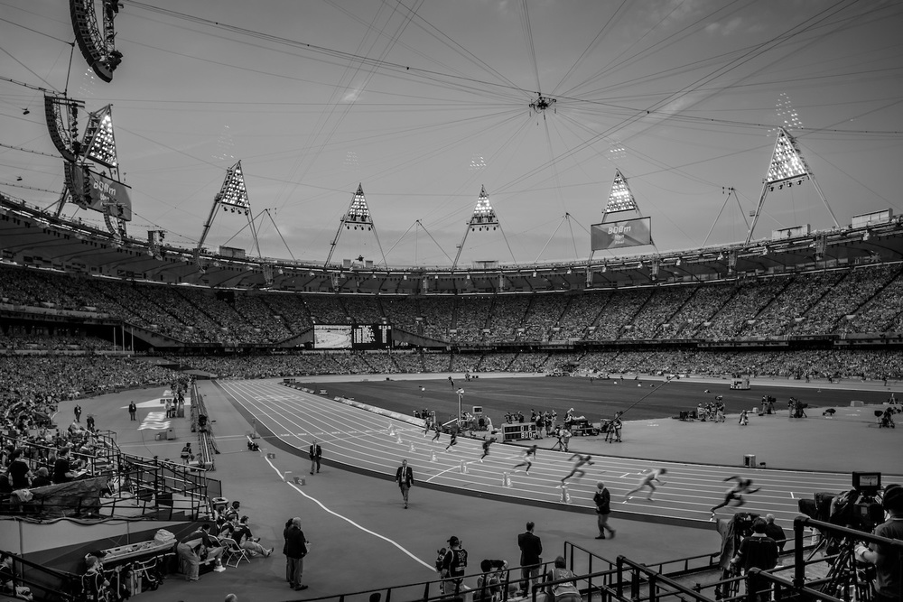 Men's 800m. London, United Kingdom, August 2012.  Inquire about this image