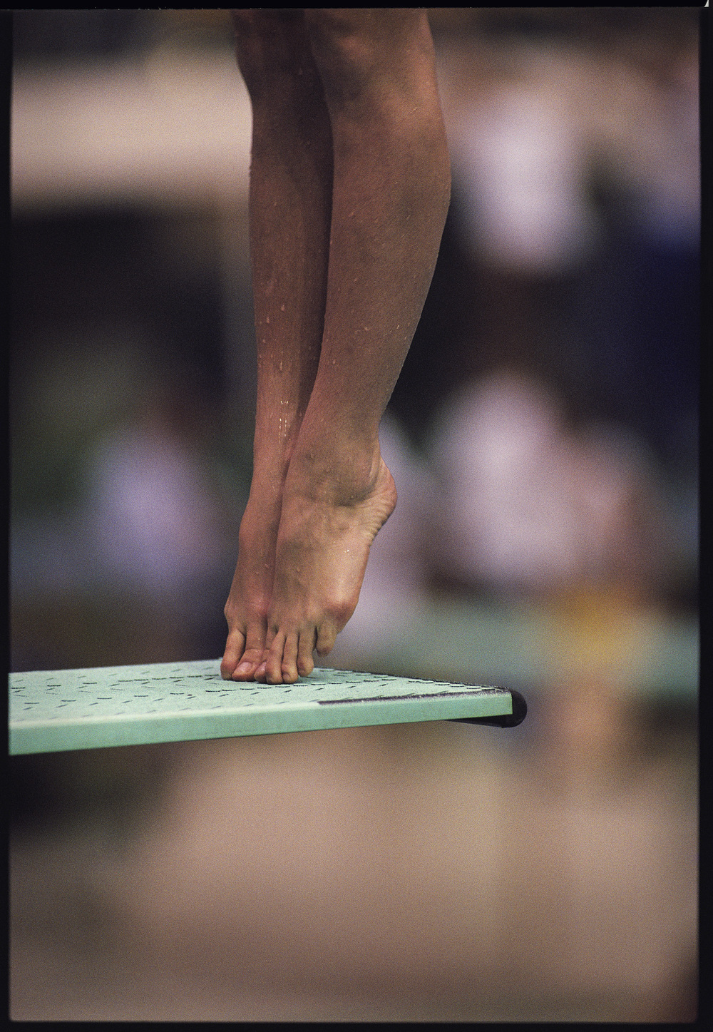 Men's Platform Diving. Seoul, South Korea, September 1988.  Inquire about this image