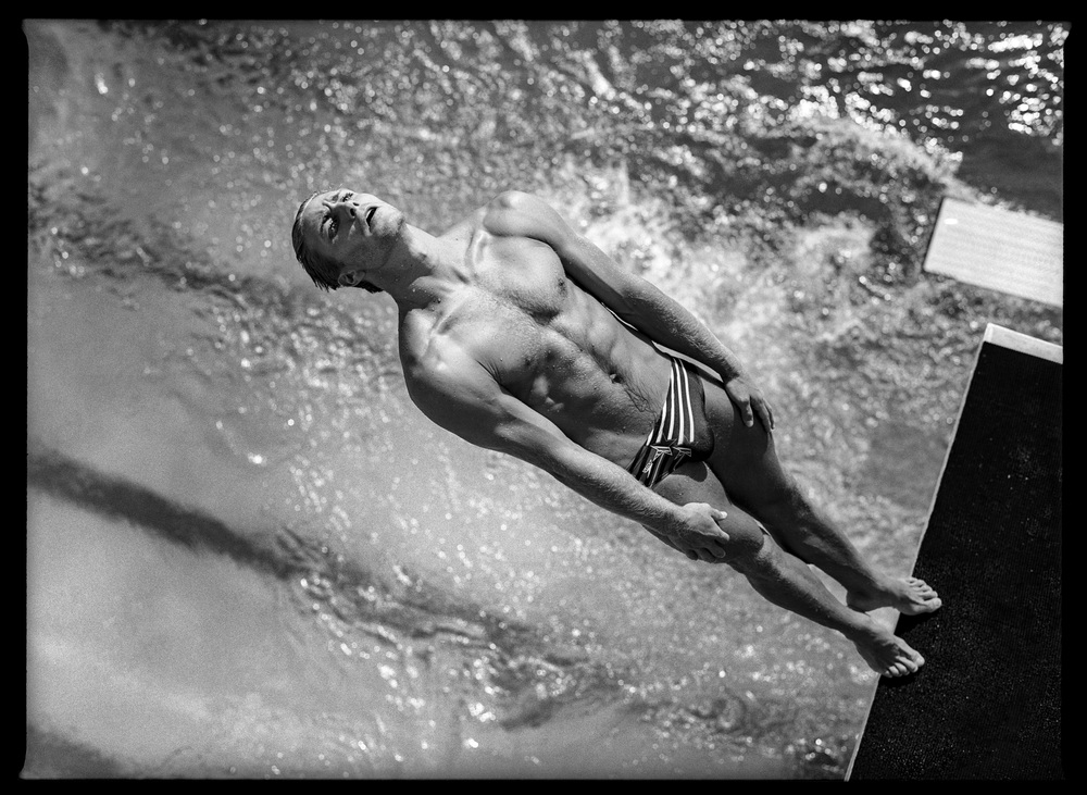 Men's Platform Diving #2. Fort Lauderdale, Florida, USA, May 1996.  Inquire about this image