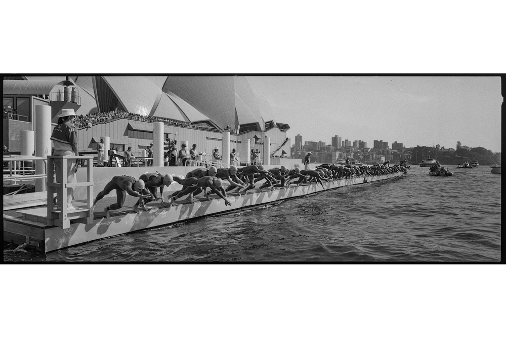 Men's Triathlon. Sydney, Australia, September 2000.  Inquire about this image