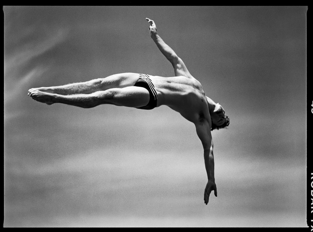 Men's Platform Diving #1. Fort Lauderdale, Florida, USA. May 1996.  Inquire about this image