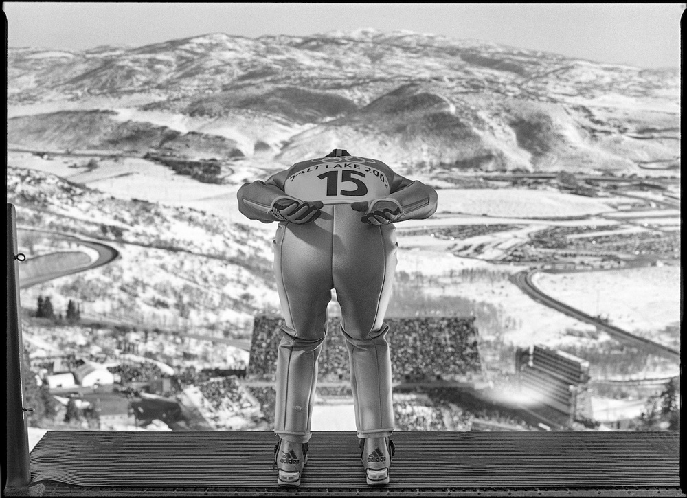 Ski Jump. Park City, Utah, USA, February 2002.  Inquire about this image