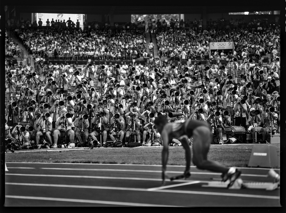 Women's 4x100m Relay. Atlanta, Georgia, USA, 1996.  Inquire about this image