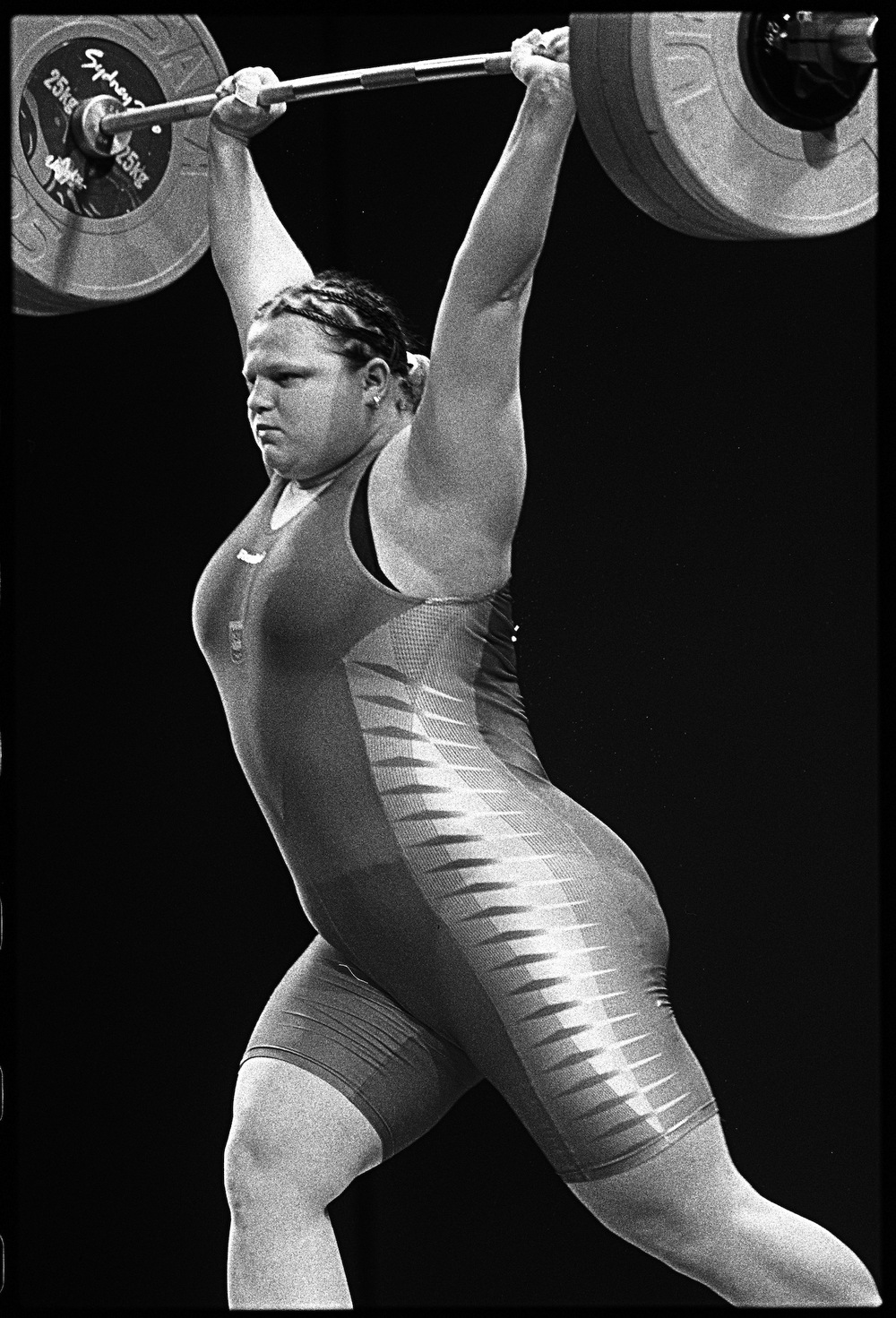 Women's Weightlifting. Sydney, Australia. September 2000.  Inquire about this image