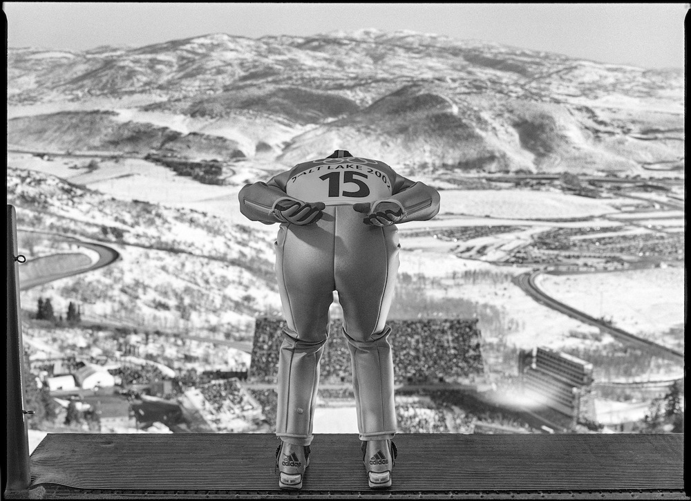 Ski Jump. Park City, Utah, USA. February 2002.  Inquire about this image