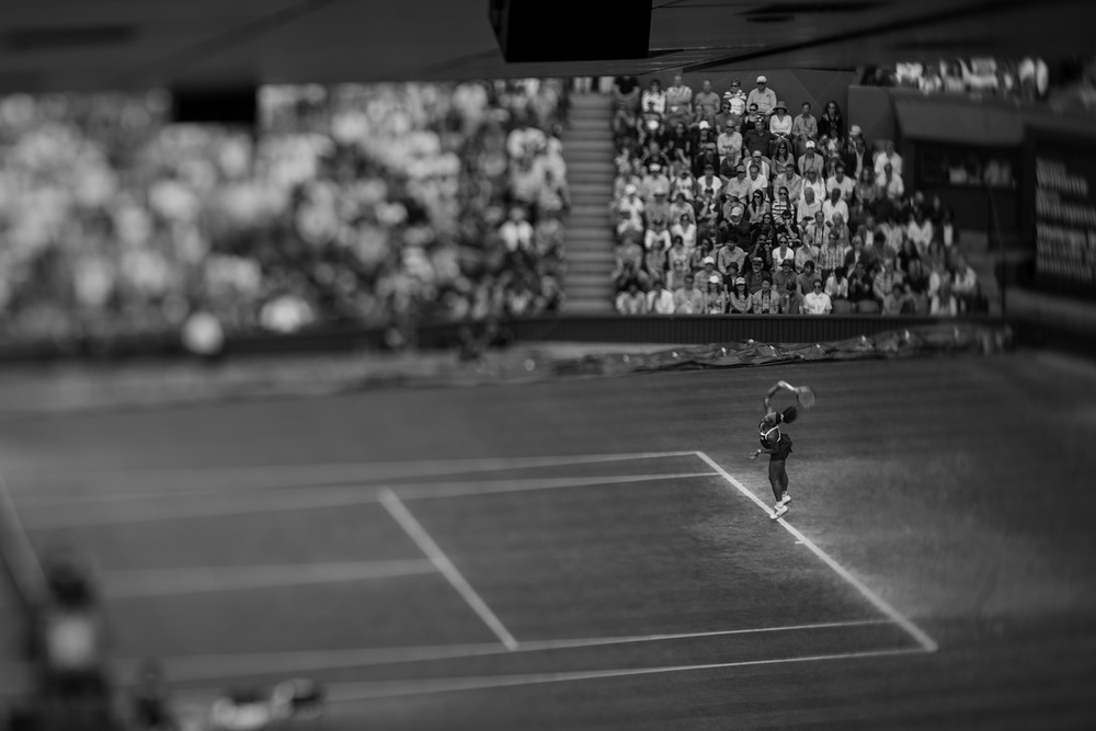 Women's Tennis. Wimbledon, United Kingdom, August 2012.  Inquire about this image