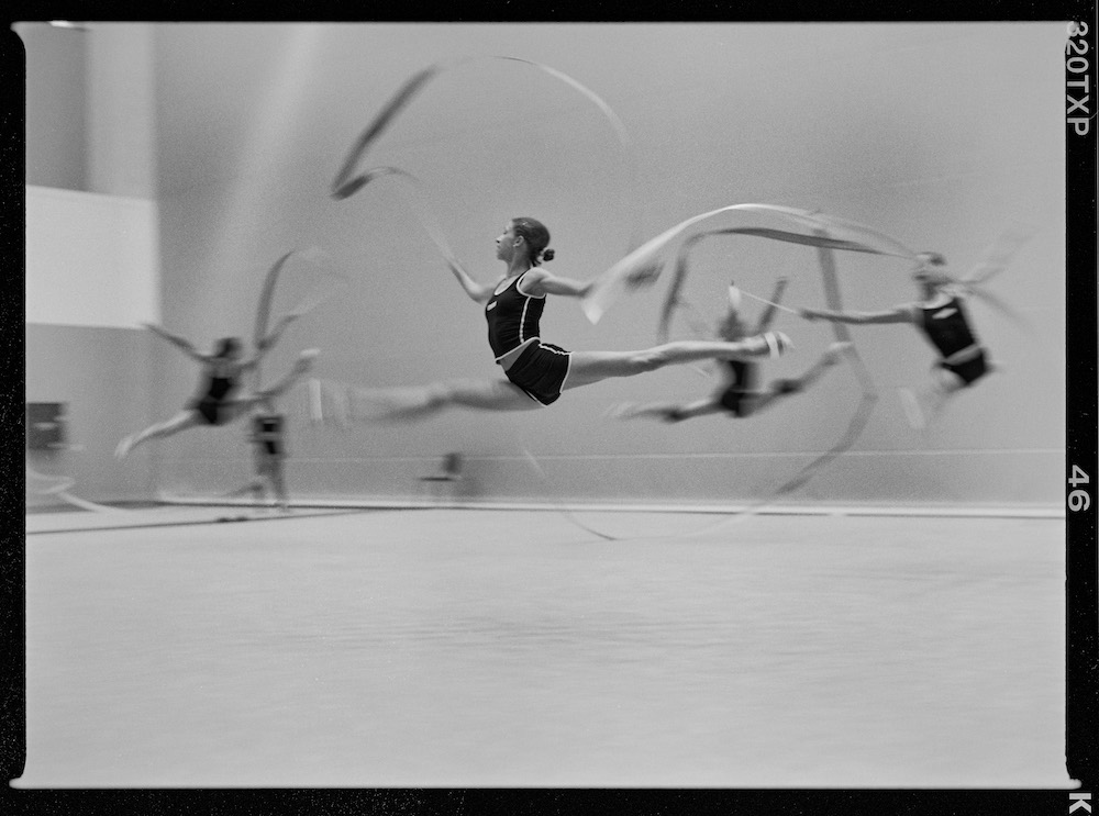 Rhythmic Gymnastics. Athens, Greece. August 2004.  Inquire about this image