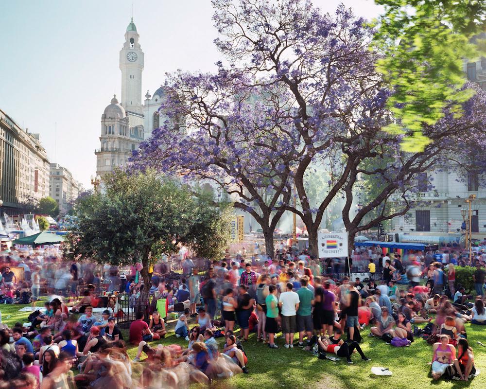Plaza de Mayo, Barrio de Monserrat, Buenos Aires, Argentina, 2014.