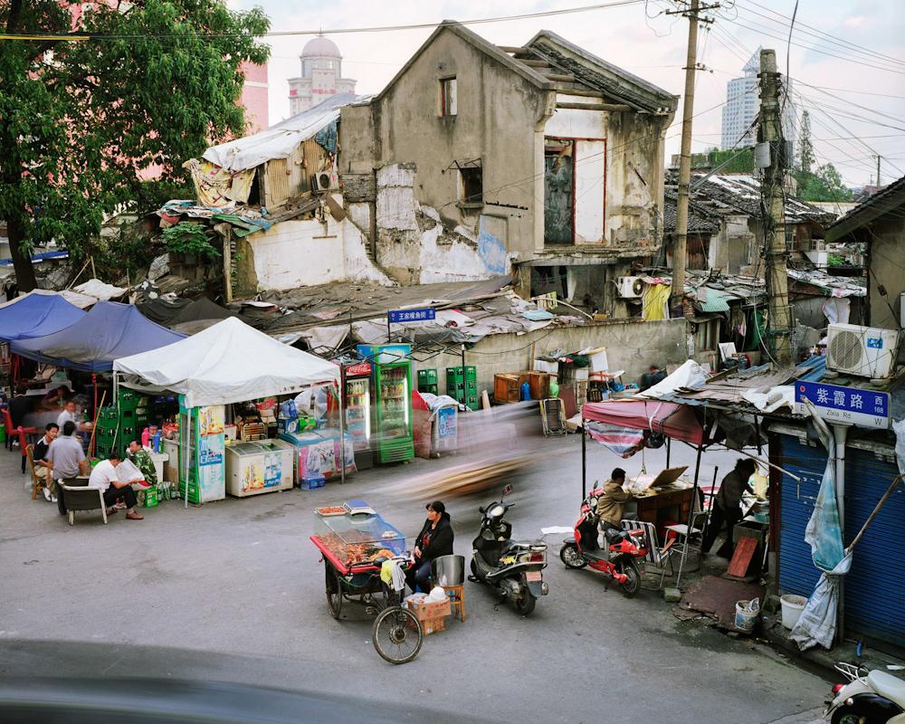 Zixia Road and Wangjiazuijiao Street, Huangpu, Shanghai, China, 2012.