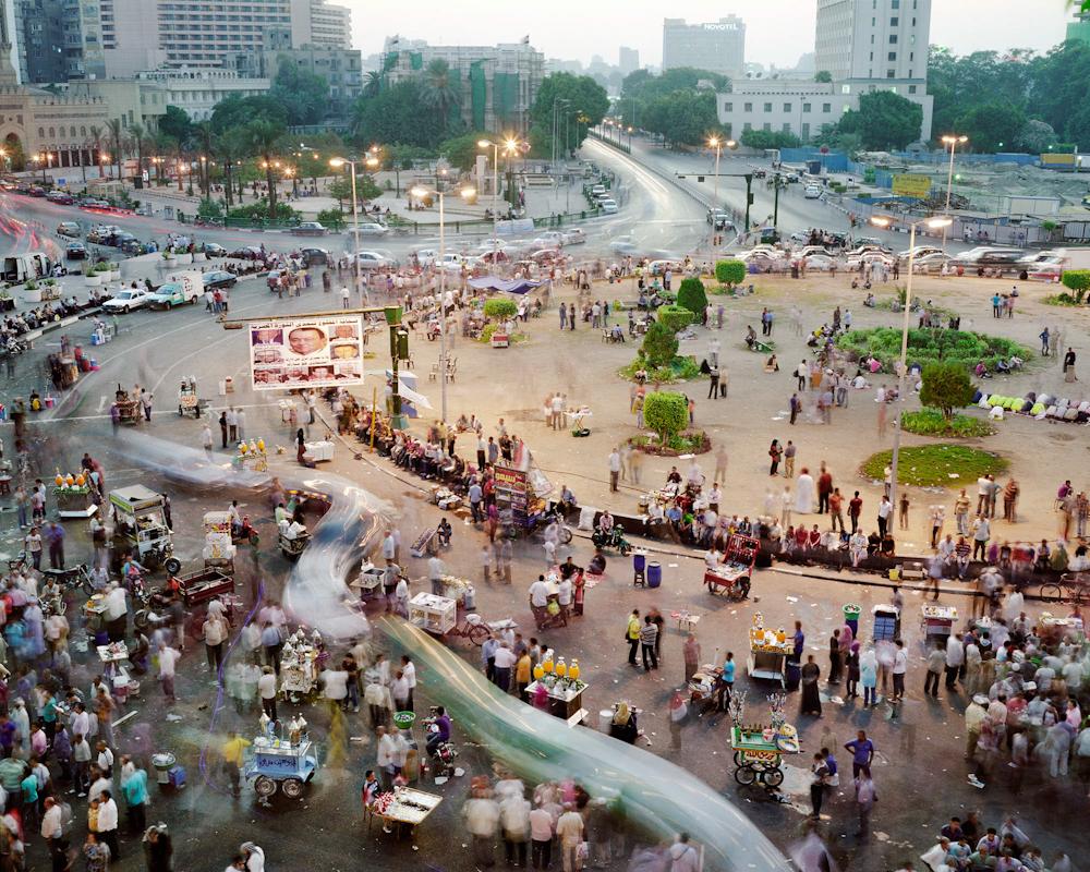 Tahrir Square, Central Cairo, Cairo, Egypt, 2011.