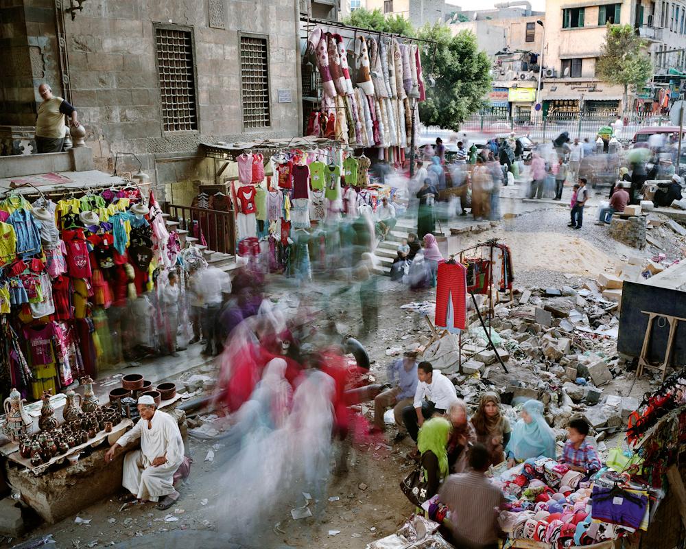 El Moez Street, Islamic Cairo, Cairo, Egypt, 2011.