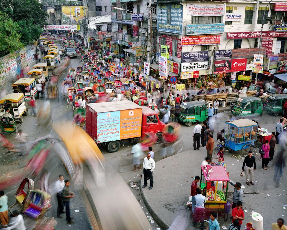 Tejturi Bazar, Farmgate, Dhaka, Bangladesh, 2011.