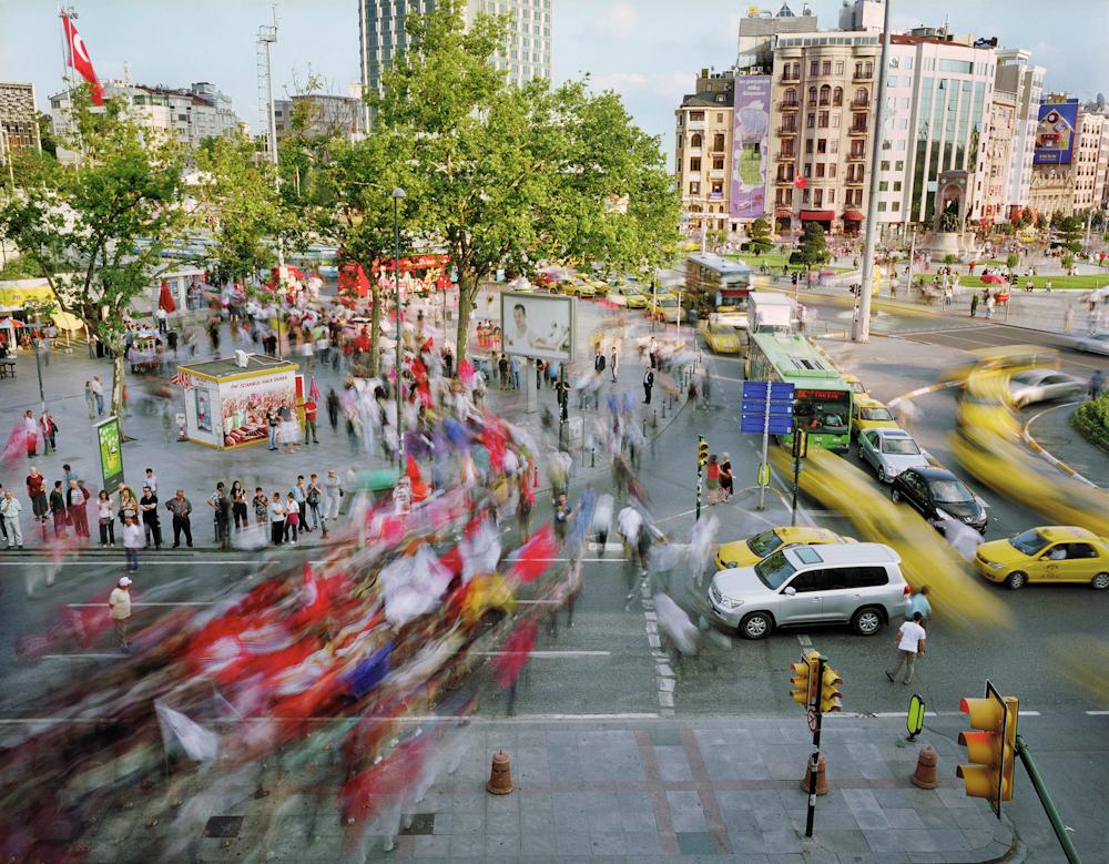 Taksim Meydani, Beyoglu, Istanbul, Turkey, 2010.