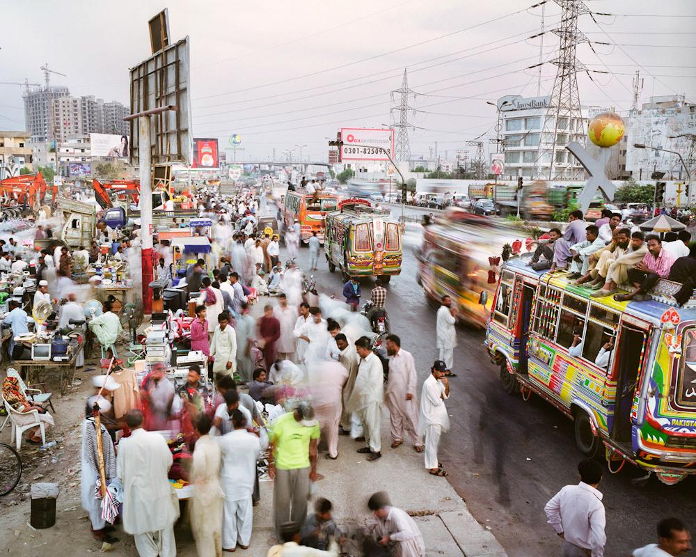 Korangi Road, Defense Housing Authority Phase 2, Karachi, Pakistan, 2011