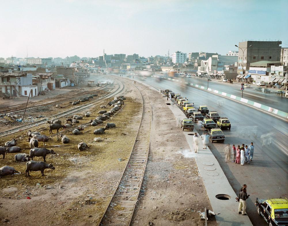 Mauripur Road, Machar Colony, Karachi, Pakistan, 2011.