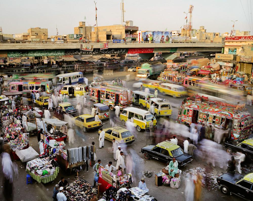 Landhi Road, Quaidabad, Karachi, Pakistan, 2011.