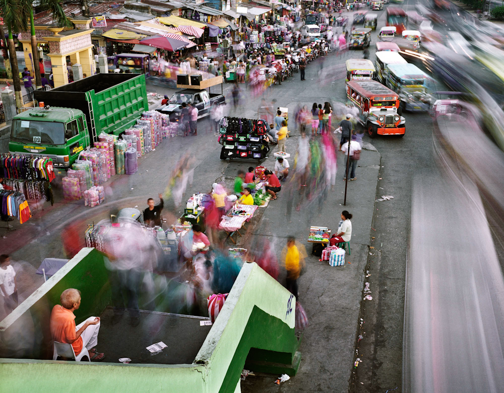 Commonwealth Avenue, Quezon City, Metro Manila, Philippines, 2010.