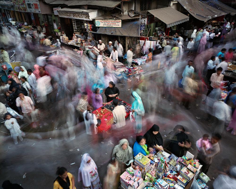 Saifee Jubilee Street, Kumbharwada, Mumbai, India, 2007.
