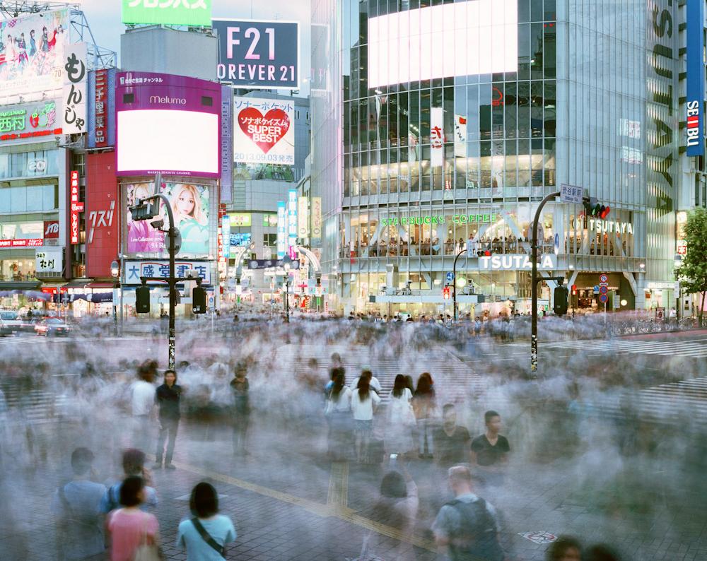 Shibuya Crossing, Shibuya-ku, Tokyo, Japan, 2013.  Inquire about this image