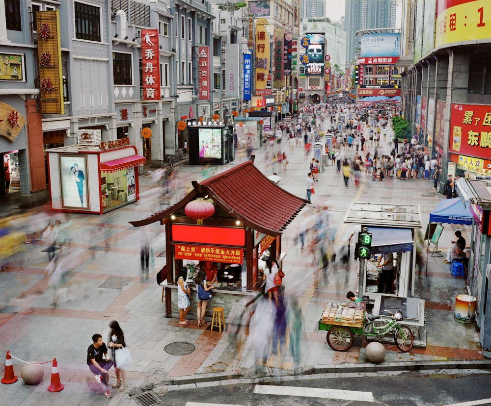 Shangxiajiu Pedestrian Street, Liwan District, Guangzhou, China, 2012.  Inquire about this image