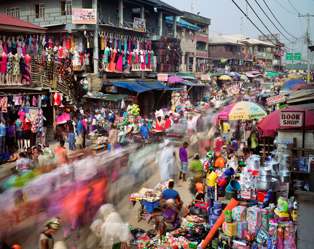 Oshodi Road, Oshodi, Lagos, Nigeria, 2015.  Inquire about this image