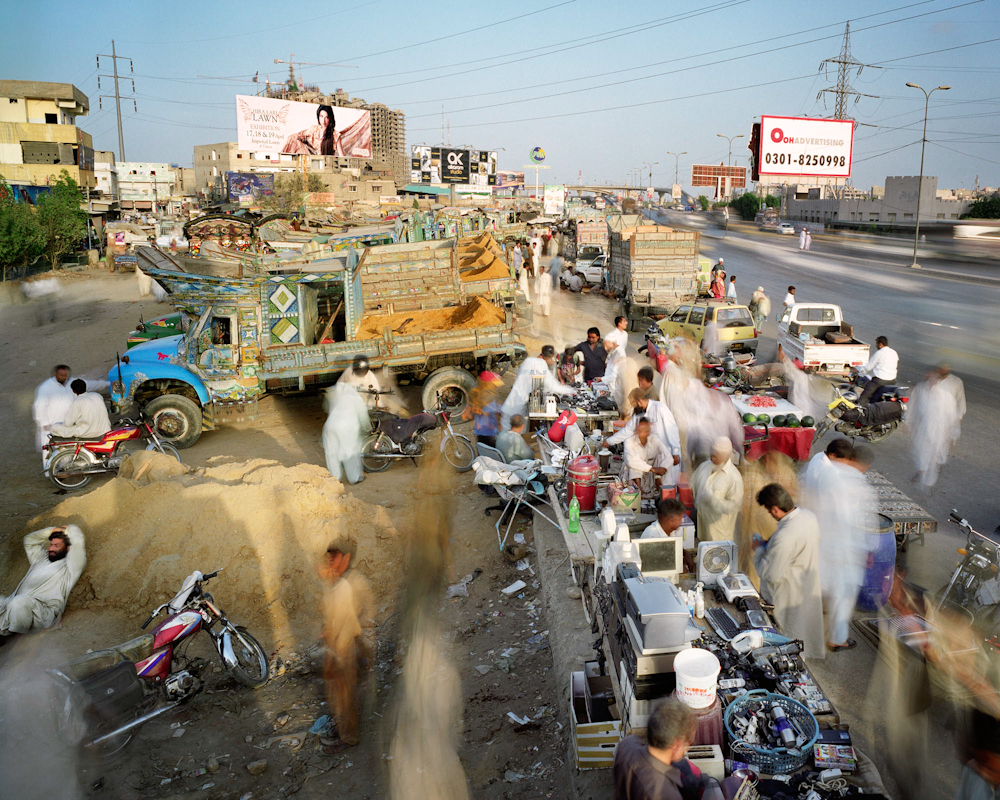 Korangi Road, Defense Housing Authority Phase 2, Karachi, Pakistan, 2011.