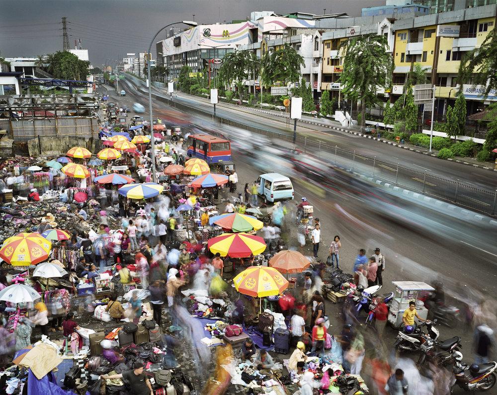 Jalan Pasar Senen, Senen, Jakarta, Indonesia, 2010.