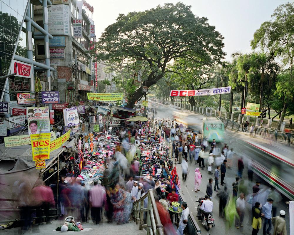 Indira Road, Farmgate, Dhaka, Bangladesh, 2011.