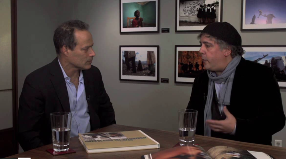 Ron Haviv and Sebastian Junger
