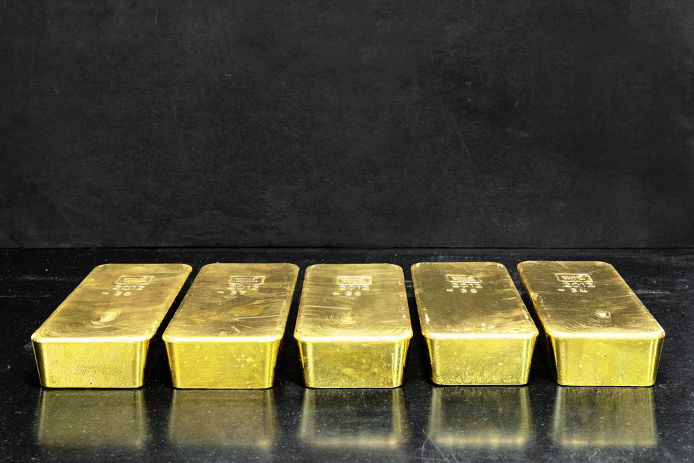Gold ingots with a purity of 99.99% recovered from industrial by-products and end-of-life items such as mobile phones, circuit boards, automotive catalysts, and industrial catalysts, to name a few. These products are finely shredded and melted down in an oven, in which the plastic components contribute to the fuel.   Inquire about this image