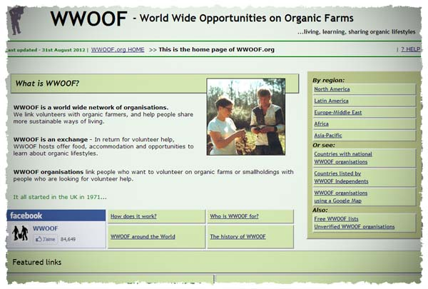 wwoof dot org
