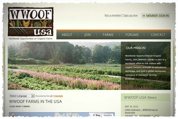 WWOOF-USA® - Worldwide Opportunities on Organic Farms, USA