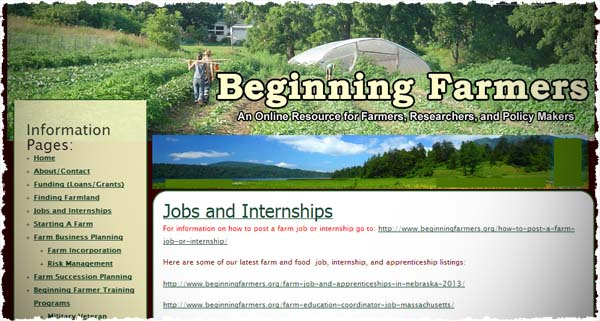 Jobs and Internships in Farming  Food  and Agriculture