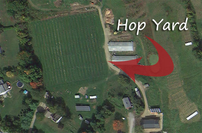 hop yard from the air