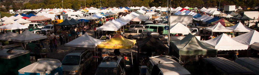 Some of our favorite markets were in California while we were staying with our friend Kevin.