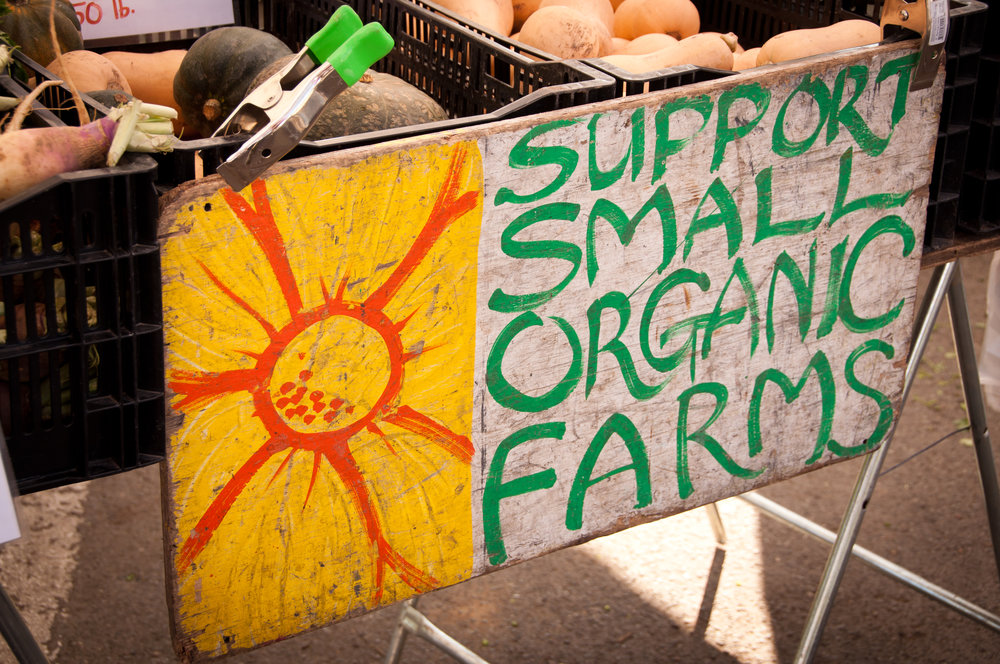We visited farms and farmers markets all over the country.