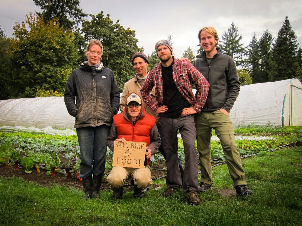 Farm crew at Foxglove Farm