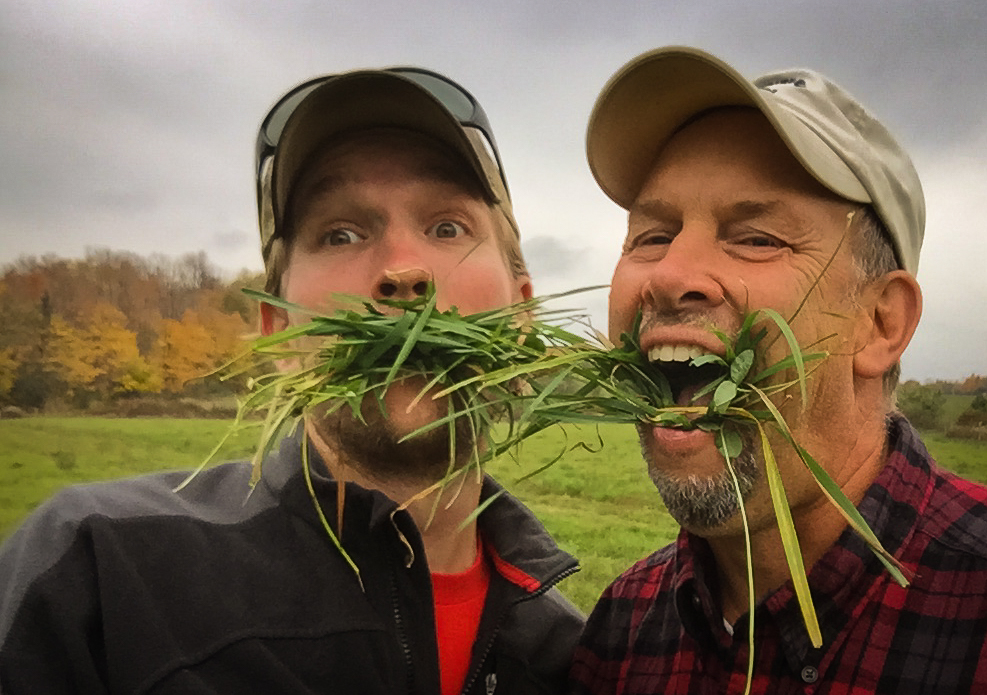 Who could forget my farm mentor Troy Bishopp The GrassWhisperer? I only wished he lived closer so he could have given me more on-site advice. Love you buddy.