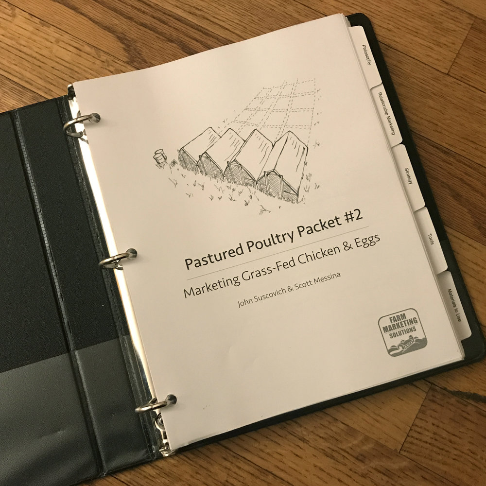 pastured poultry packet workbook