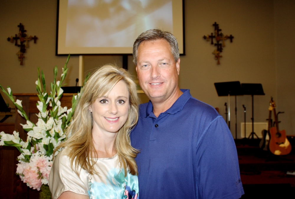 Men's Ministry Leader and Children's Church Director, David Guyor and his wife, Kim